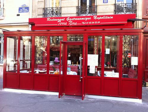 Terra Nera Restaurant Paris